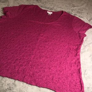🔥JACLYN SMITH pink shirt